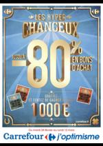 Prospectus Carrefour : Les hyper chanceux