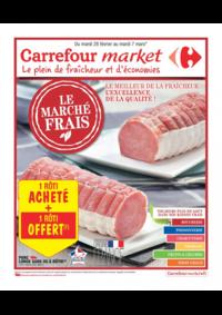 Prospectus Carrefour Market NANTERRE : Le marché frais