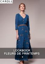 Catalogues et collections Caroll : Lookbook Fleurs de printemps