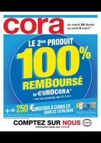 Prospectus Cora ARCUEIL : Le 2ème produit 100% remboursé en €urocora