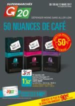 Prospectus G20 : 50 nuances de café