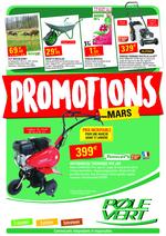 Prospectus Pôle Vert : Promotions de Mars