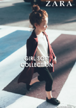 Catálogos e Coleções ZARA : Lookbook girl Soft collection