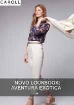 Catálogos e Coleções Caroll : Novo Lookbook: Aventure Exotique