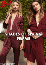 Catalogues et collections H&M : Lookbook femme Shades of spring