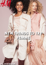 Promos et remises  : Lookbook femme New trends to try