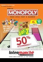 Prospectus Intermarché Hyper : Grand jeu Monopoly vous avez tout à gagner