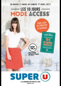 Prospectus Super U LOCHES : Les 10 jours mode access