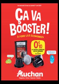 Prospectus Auchan Plaisir : Ça va booster