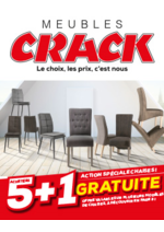 Promos et remises  : Action chaises : 5 achetées + 1 gratuite