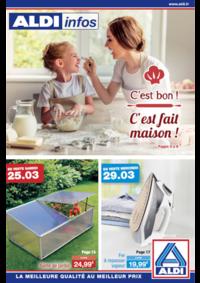 Prospectus Aldi Asnières-sur-Seine : C'est bon ! C'est fait maison !