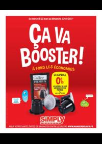 Prospectus Simply Market PLAISIR : Ça va booster !