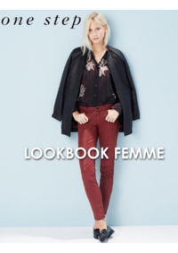 Catalogues et collections One step PARIS : Feuilletez le lookbook femme