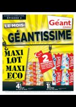 Prospectus Géant Casino : Le mois géantissime II