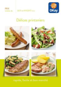 Prospectus OKay Supermarchés BRUGELETTE : Délices printaniers