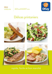 Prospectus OKay Supermarchés GANSHOREN : Délices printaniers
