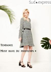 Catalogues et collections Sud express VELIZY VILLACOUBLAY : Tendance Must have du printemps