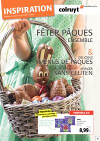 Prospectus Colruyt ALSEMBERG : Inspiration Pâques