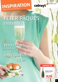 Prospectus Colruyt BREDENE : Fêter Pâques Ensemble !
