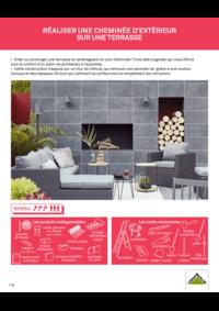 Guides et conseils Leroy Merlin St Denis-la-Plaine : Réaliser une cheminée d'extérieur sur une terrasse