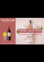 Prospectus Carrefour : Foire aux vins de printemps