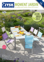Catalogues et collections Jysk : Saison Jardin 2017