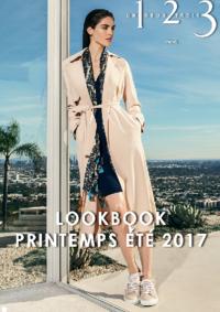 Catalogues et collections 1.2.3 MONTESSON : Lookbook printemps été 2017