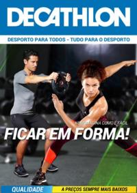Folhetos DECATHLON Santarém : Nem imagina como é fácil ficar em forma!