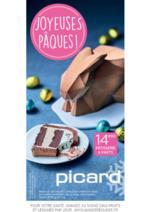 Prospectus Picard : Joyeuses Pâques !