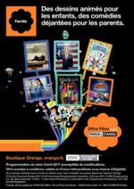 Prospectus Orange : Programmation Avril 2017