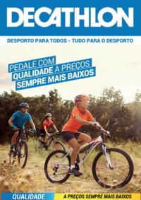 Folhetos DECATHLON Santarém : Pedale com qualidade a preços sempre mais baixos