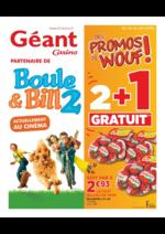 Prospectus Géant Casino : Les promos de wouf