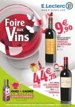 Prospectus E.Leclerc : Foire aux vins de printemps