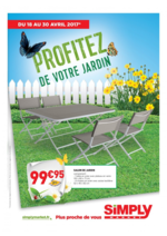 Promos et remises  : Profitez de votre jardin