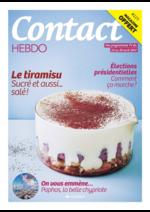 Prospectus  : Contact Hebdo