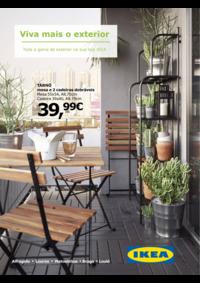 Folhetos IKEA Alfragide : Viva mais o exterior