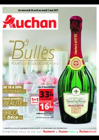 Prospectus Auchan MAUREPAS : Des bulles pour toutes les occasions