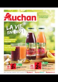Prospectus Auchan Plaisir : La vie en bio !