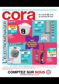 Prospectus Cora MASSY : L'électroménager