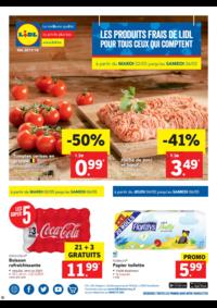 Prospectus Lidl SCHAERBEEK / SCHAARBEEK : Profitez des offres