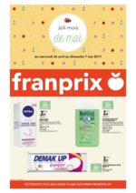 Prospectus Franprix : Joli mois de mai