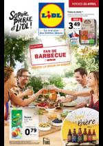 Prospectus Lidl : Fan de barbecue, débutez la saison en beauté !