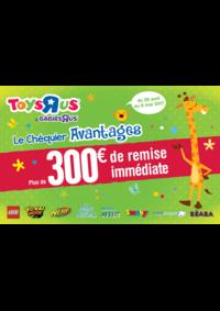 Promos et remises Toys R Us MARNE la VALLEE : Plus de 300€ de remise immédiate