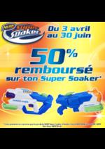 Bons Plans King Jouet : 50% remboursé sur ton Super Soaker
