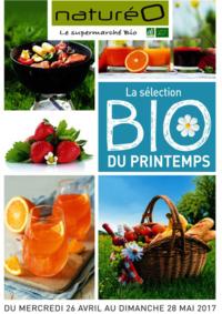 Prospectus NaturéO LES CLAIES-SOUS-BOIS : La sélection Bio du printemps