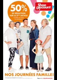 Prospectus Shoe Discount BRUSSEL Rue Neuve : Nos journées famille !
