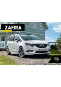 Catálogos e Coleções Opel Moita Rua dos Ferreiros : Catálogo Opel Zafira