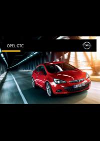 Catálogos e Coleções Opel Agualva - Cacém : Catálogo Opel GTC