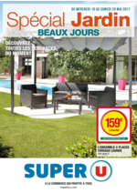 Prospectus Super U : Spécial jardin beaux jours