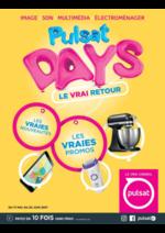 Prospectus Pulsat : Pulsat Days - Le vrai retour